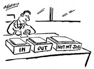Cartoon - Not my job